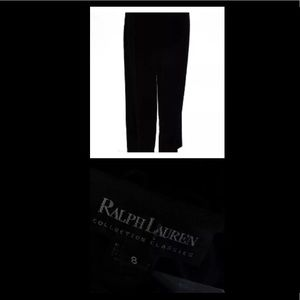 Ralph Lauren Black Label Pants - EUC RALPH LAUREN 💯% authentic silk velvet pants
